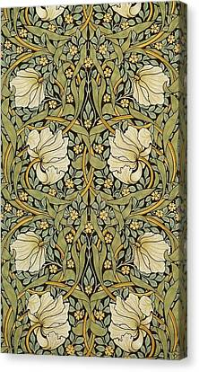 Pimpernel Canvas Print by William Morris