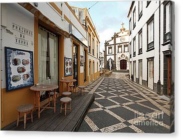 Ponta Delgada - Azores Canvas Print by Gaspar Avila