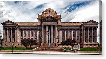 Pueblo County Courthouse Canvas Print