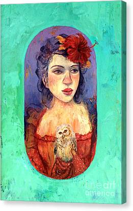 Queen Of Wisdom Canvas Print