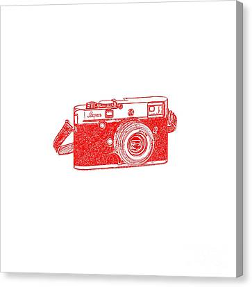 Rangefinder Camera Canvas Print by Setsiri Silapasuwanchai