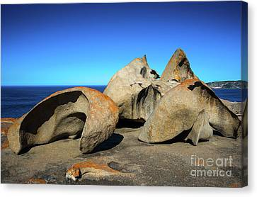 Remarkable Rocks Canvas Print