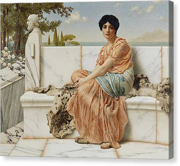 Reverie Canvas Print by John William Godward