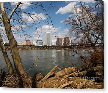 Richmond Skyline Canvas Print by Ben Schumin