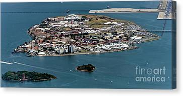 Rikers Island Jail - New York City Department Of Correction Canvas Print