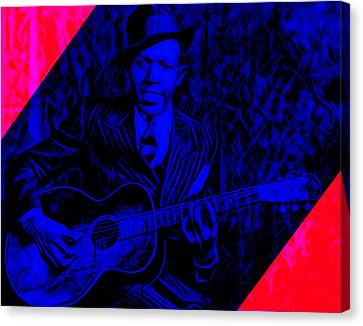Robert Johnson Collection Canvas Print by Marvin Blaine