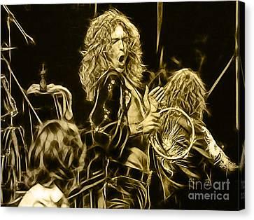 Robert Plant Led Zeppelin Canvas Print
