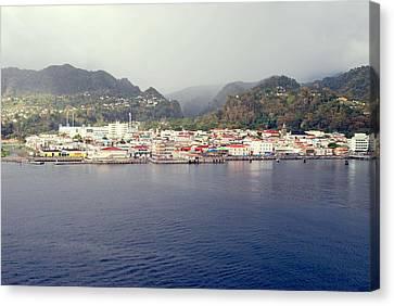 Roseau Dominica Canvas Print