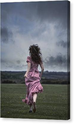 Running Canvas Print by Joana Kruse