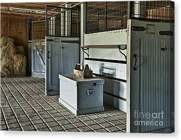 Rustic Stable Canvas Print by John Greim