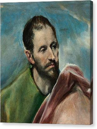 Saint James The Younger Canvas Print by El Greco