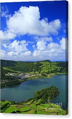 Sete Cidades - Azores Canvas Print by Gaspar Avila