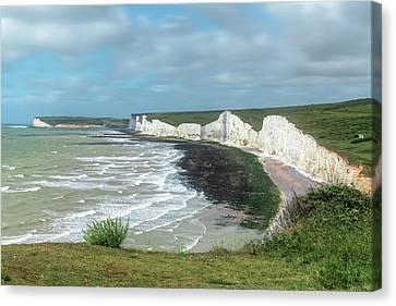 Seaford Canvas Print - Seven Sisters - England by Joana Kruse