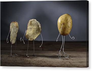 Simple Things - Potatoes Canvas Print