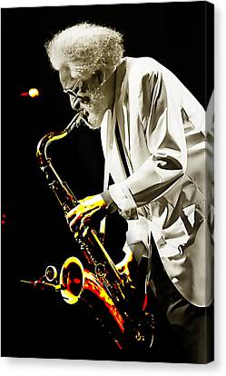 Sonny Rollins Collection Canvas Print