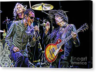 Stone Temple Pilots Collection Canvas Print by Marvin Blaine