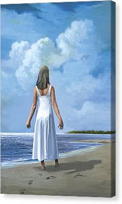 The Awakening Canvas Print by Harold Shull