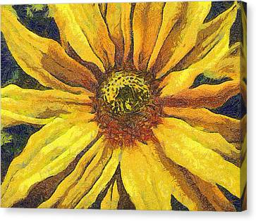 The Flower Canvas Print by Odon Czintos