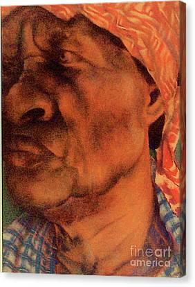 The Gaze Of Mother Witt Canvas Print