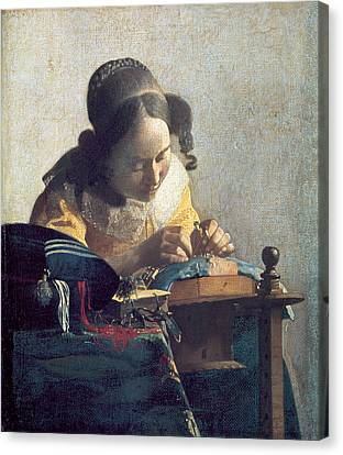 The Lacemaker Canvas Print