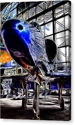 The Navy's Blue Angel Canvas Print by David Patterson