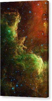 The North America Nebula Canvas Print by American School
