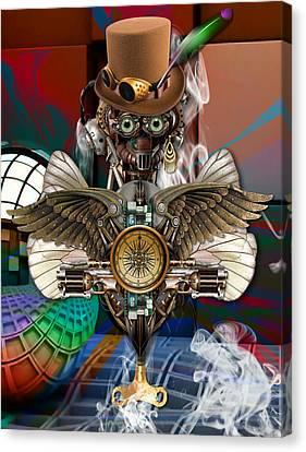 Time Traveler Art Canvas Print by Marvin Blaine