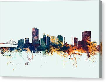 Toledo Ohio Skyline Canvas Print