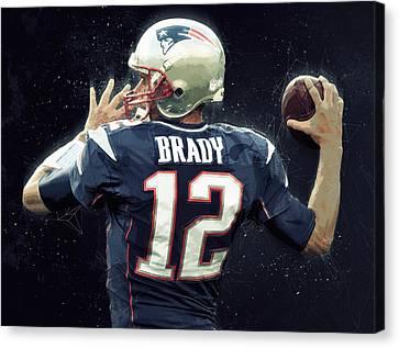 Tom Brady Canvas Print