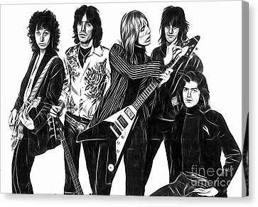 Heartbreaker Canvas Print - Tom Petty And The Heartbreakers Collection by Marvin Blaine