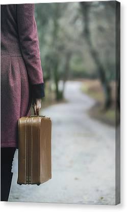 Travelling Canvas Print by Joana Kruse