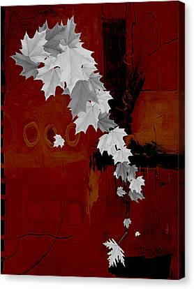 Tree Leaves Art. Canvas Print