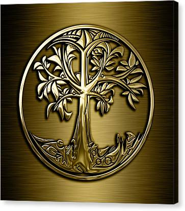 Tree Of Life Collection Canvas Print by Marvin Blaine