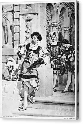 Two Gentlemen Of Verona Canvas Print by Granger