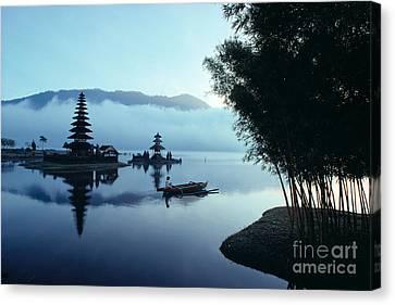 Ulu Danu Temple Canvas Print by William Waterfall - Printscapes
