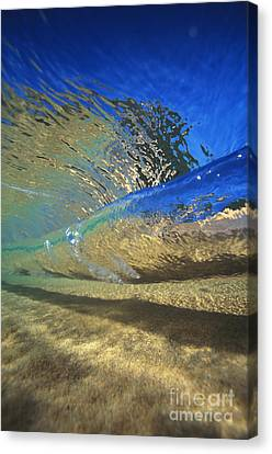 Underwater Wave Canvas Print by Vince Cavataio - Printscapes