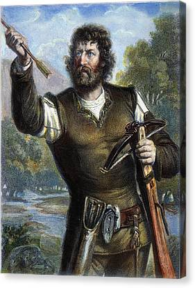 William Tell Canvas Print by Granger