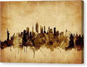 New York Skyline Canvas Print