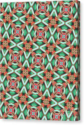 Unique Design Pattern Canvas Print by Amy Cicconi