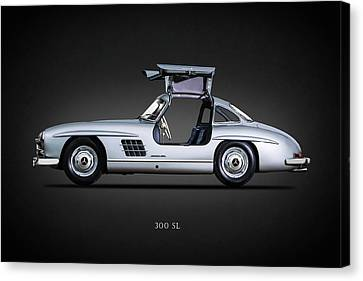 300 Sl Gullwing 1954 Canvas Print