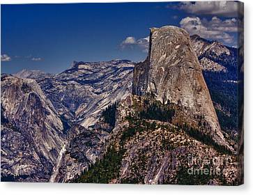 301 - Blue Skies Hdr Canvas Print by Chris Berry