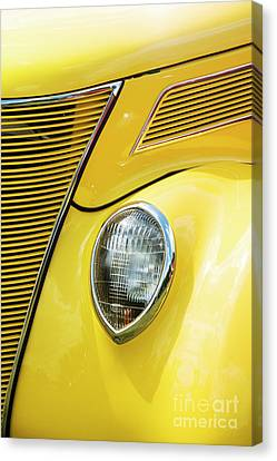 Canvas Print featuring the photograph 30s Ford by Tim Gainey