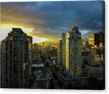 30th Story Canvas Print