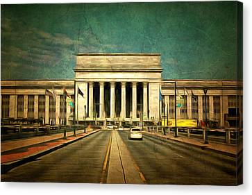 30th Street Station Traffic Canvas Print