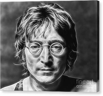 John Lennon Collection Canvas Print by Marvin Blaine