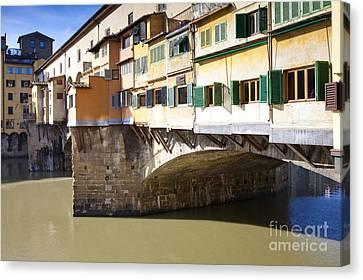 Ponte Vecchio Canvas Print by Andre Goncalves