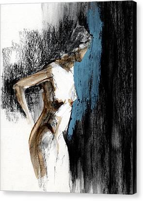 Female Canvas Print - Rcnpaintings.com by Chris N Rohrbach