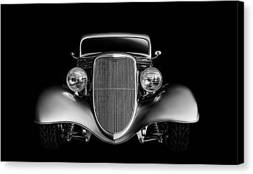 1933 Canvas Print - '33 Ford Hotrod by Douglas Pittman