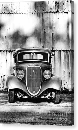 33 Ford V8 Canvas Print by Tim Gainey