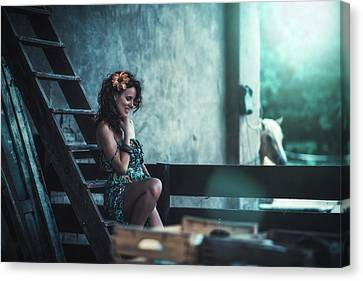 Canvas Print featuring the photograph ... by Traven Milovich